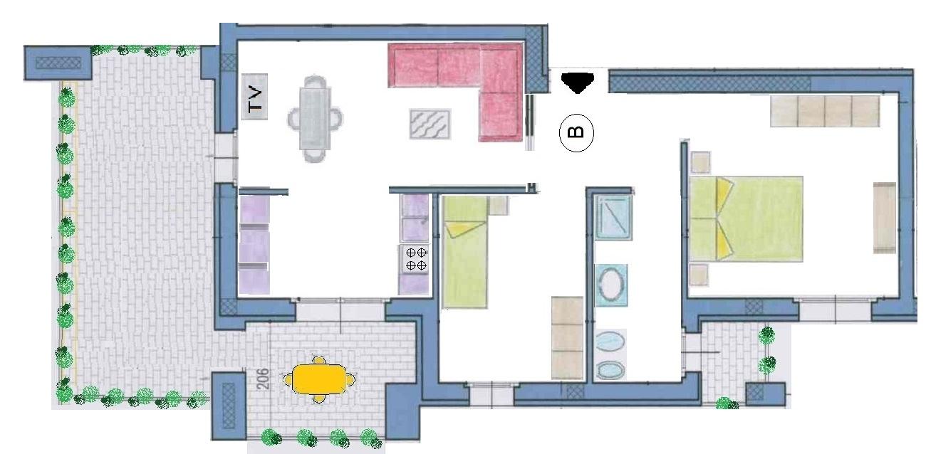 Appartamento Con Giardino Trento